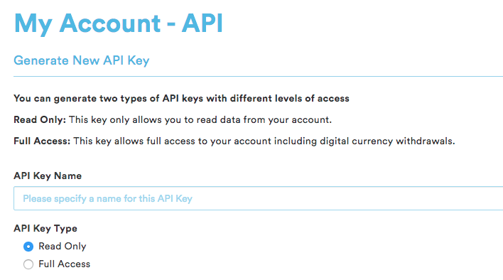 coinspot api permissions